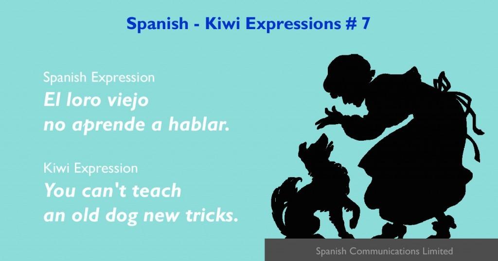 Spanish - Kiwi expressions # 7