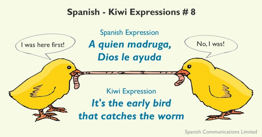 Spanish - Kiwi expressions # 8