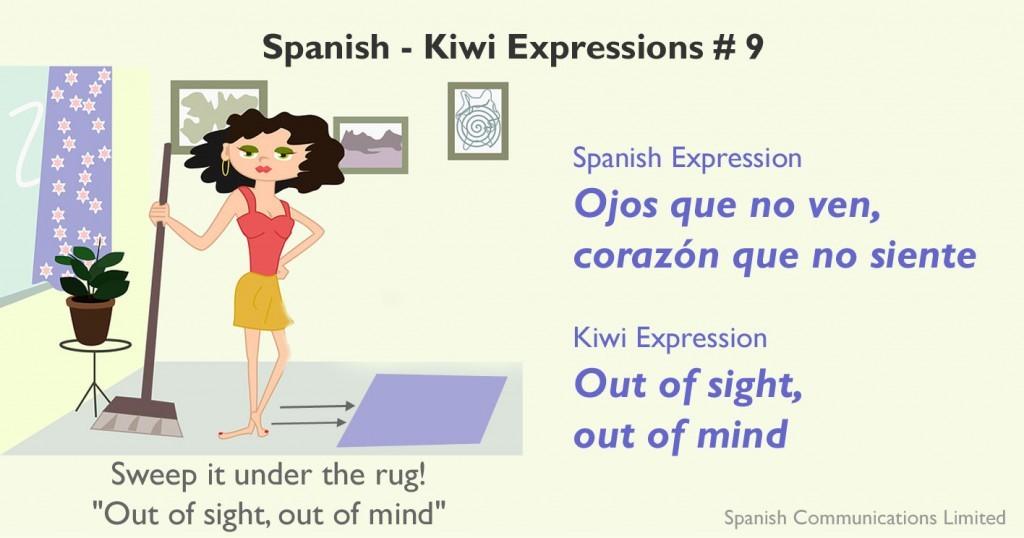 Spanish - Kiwi expressions # 9